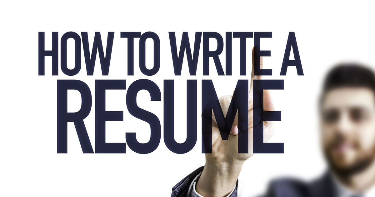 How To Write a Resume for a Job - The Ultimate Guide [2019]