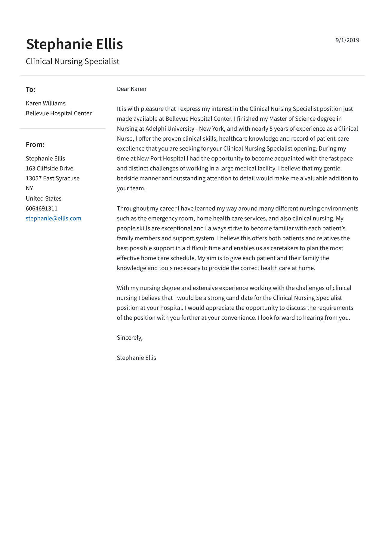 Job Winning Cover Letter Examples Format Guide Jofibo